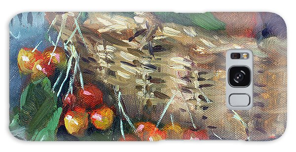 Basket Galaxy Case - Cherries by Ylli Haruni