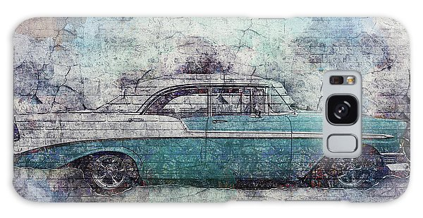 Galaxy Case featuring the photograph Chevy Bel Air by Joel Witmeyer