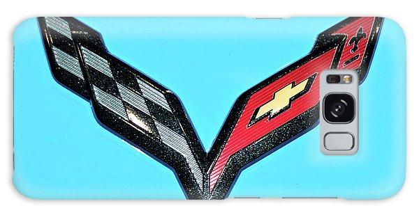 Chevy Emblem Galaxy Case by Pamela Walrath