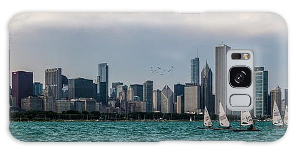 Galaxy Case featuring the photograph Chicago Skyline by Joel Witmeyer