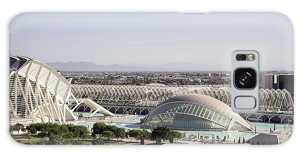 Ciudad De Las Artes Y Ciencias Valencia Galaxy Case