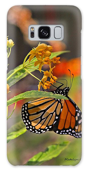 Clinging Butterfly Galaxy Case