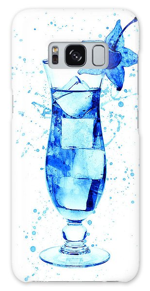 Martini Galaxy Case - Cocktail Drinks Glass Watercolor by Michael Tompsett