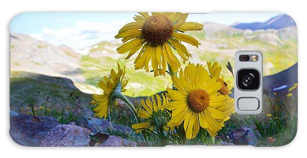Colorado Wildflowers Galaxy Case