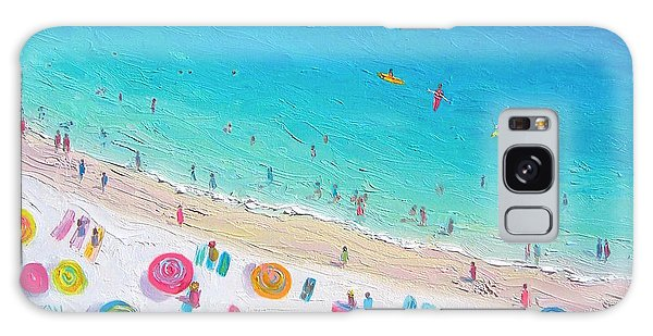 Colors Of The Beach Galaxy Case