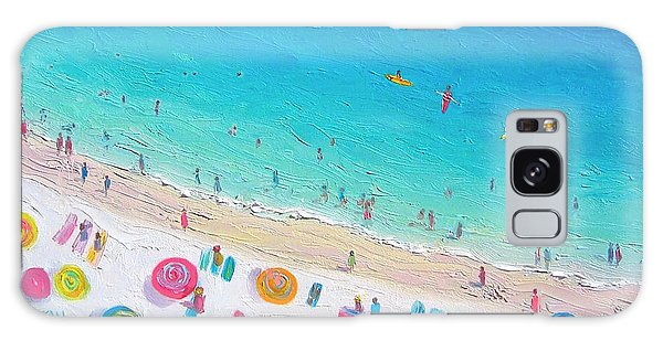 Colors Of The Beach Galaxy Case by Jan Matson