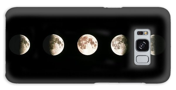 Moon Galaxy Case - Composite Image Of The Phases Of The Moon by John Sanford
