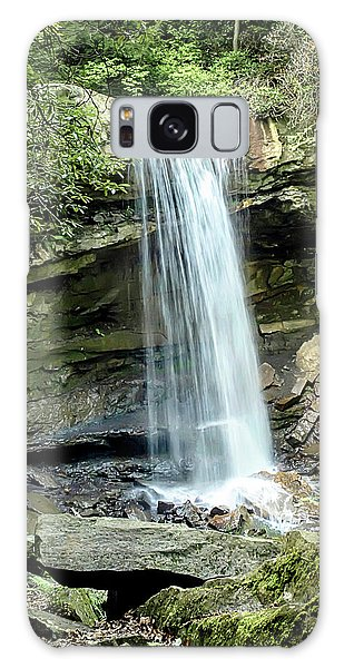 Cucumber Falls Pennsylvania Galaxy Case by Chris Smith