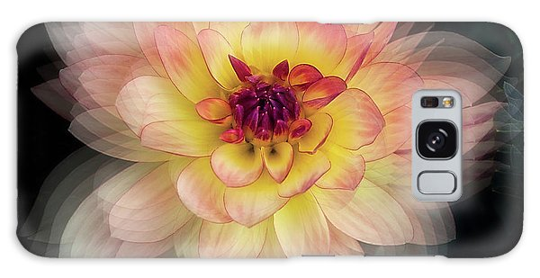 Galaxy Case featuring the photograph Dahlia 'keith H.' by Ann Jacobson