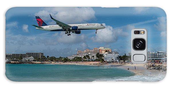 Delta Air Lines Landing At St. Maarten Galaxy Case