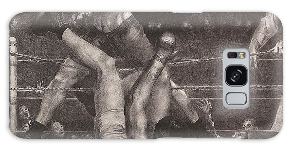 Amateur Galaxy Case - Dempsey Through The Ropes by George Bellows