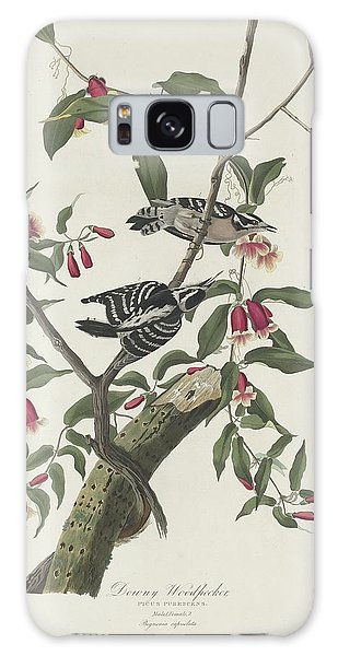Downy Woodpecker Galaxy Case by Dreyer Wildlife Print Collections