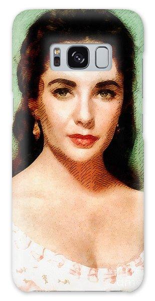Elizabeth Taylor Hollywood Actress Galaxy S8 Case