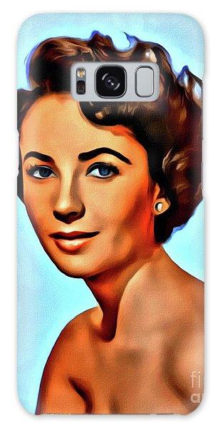 Elizabeth Taylor, Vintage Hollywood Legend Galaxy Case by Mary Bassett