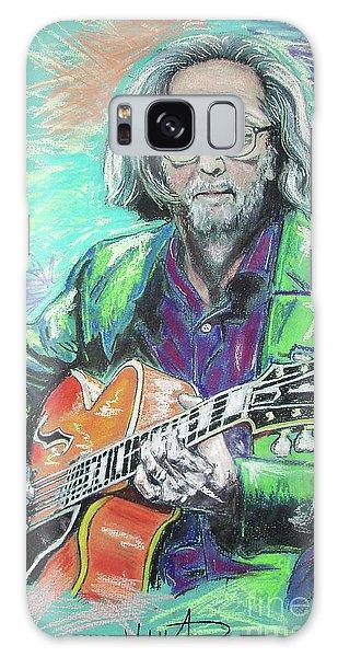 Eric Clapton Galaxy Case - Eric Clapton by Melanie D
