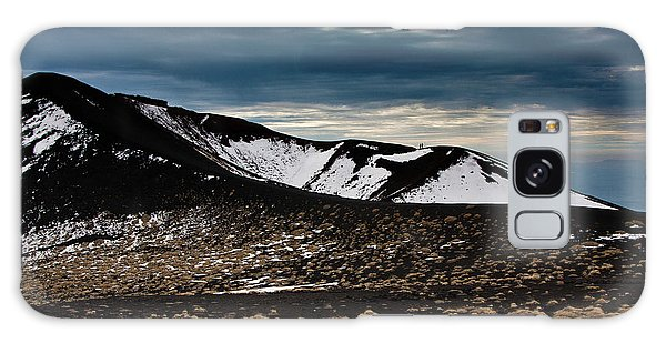 Etna, Red Mount Crater Galaxy Case by Bruno Spagnolo