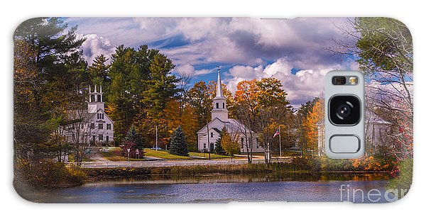 Fall Foliage In Marlow, New Hampshire. Galaxy Case