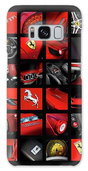 Sports Car Galaxy Case - ferrari 458 Italia by Mark Rogan