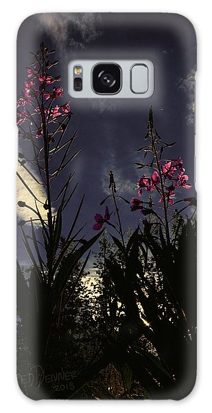 Galaxy Case featuring the photograph Fireweed by Fred Denner