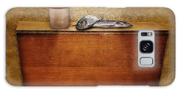 2 Fish And A Jug Galaxy Case by Marty Garland