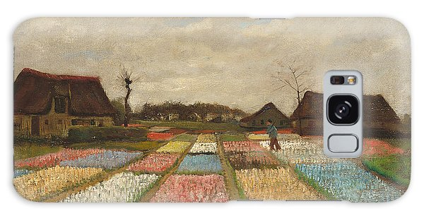 Flowerbed Galaxy Case - Flower Beds In Holland by Vincent Van Gogh