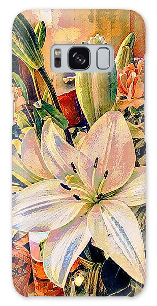 Flowers For You Galaxy Case