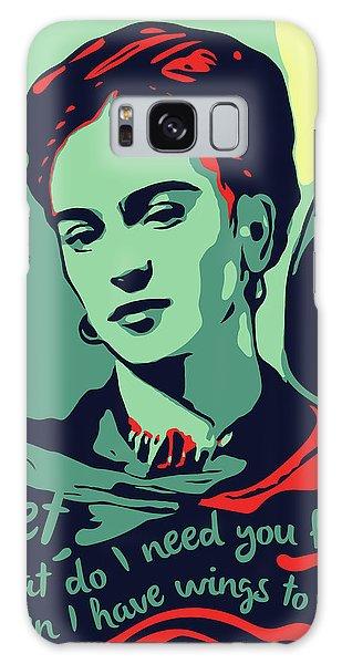 Folk Art Galaxy Case - Frida Kahlo by Greatom London