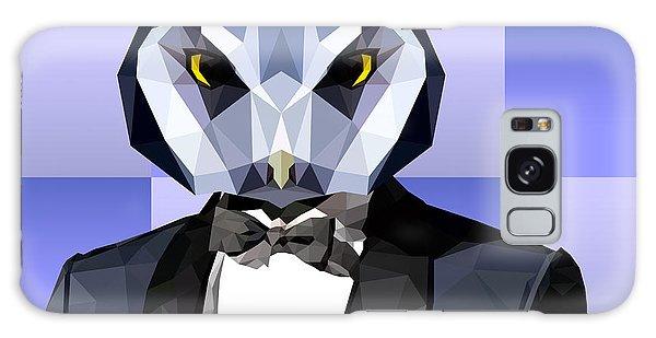 Geometric Owl Galaxy Case