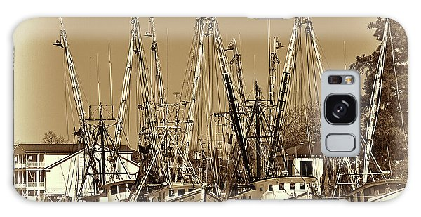 Galaxy Case featuring the photograph Georgetown Shrimpers by Bill Barber