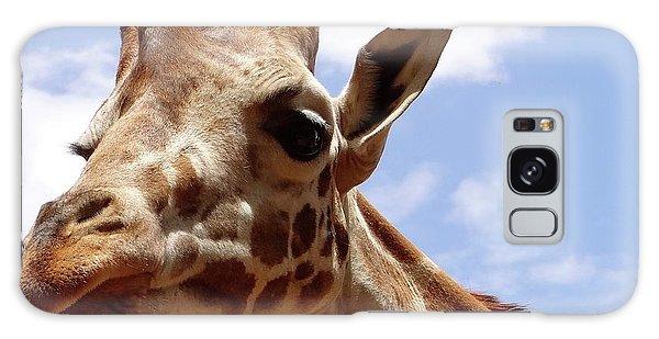 Giraffe Getting Personal 6 Galaxy Case