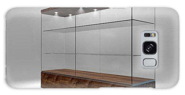 Shelves Galaxy Case - Glass Display Cabinet by Allan Swart