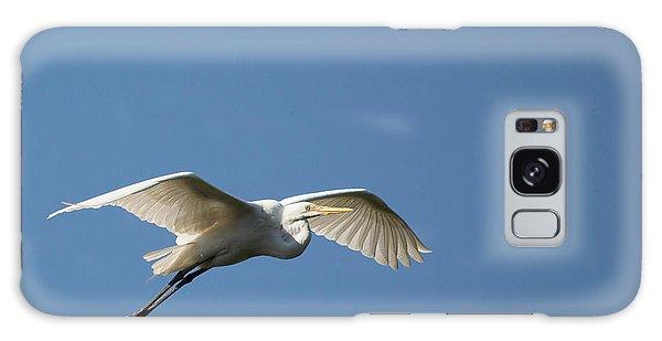 Great Egret Galaxy Case by Linda Geiger