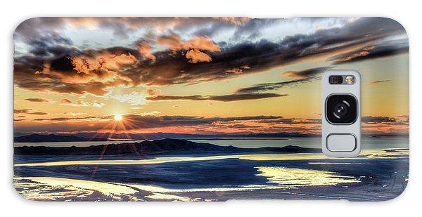 Great Salt Lake Sunset Galaxy Case
