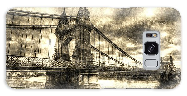 Hammersmith Bridge London Vintage Galaxy Case