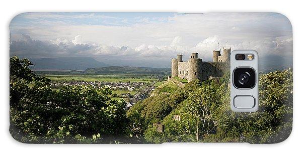 Harlech Castle, Snowdonia, Gwynedd, North Wales, Uk Galaxy Case