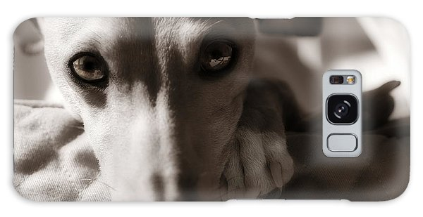 Heart You Italian Greyhound Galaxy Case
