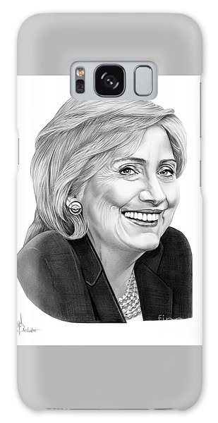 Hillary Clinton Galaxy Case by Murphy Elliott