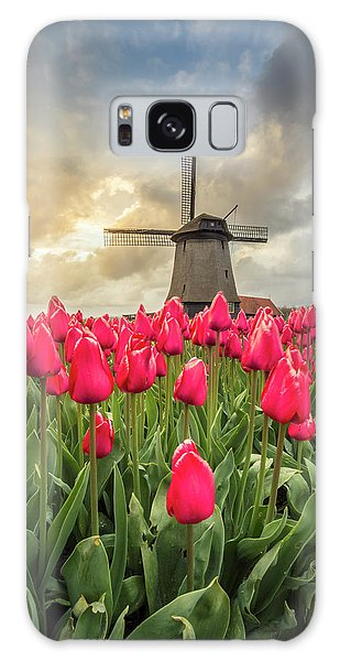 Holland Windmill Galaxy Case