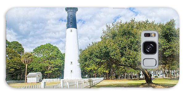 Hunting Island Lighthouse Galaxy Case