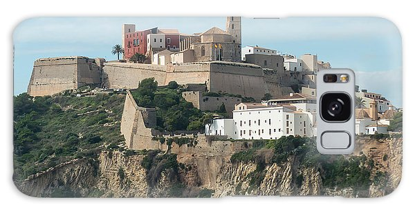 Ibiza Town And Castle Galaxy Case