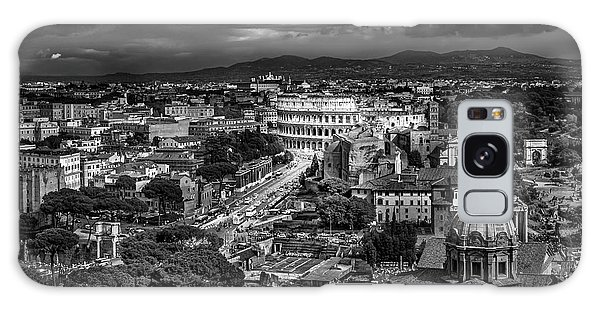 Il Colosseo Galaxy Case by Sonny Marcyan