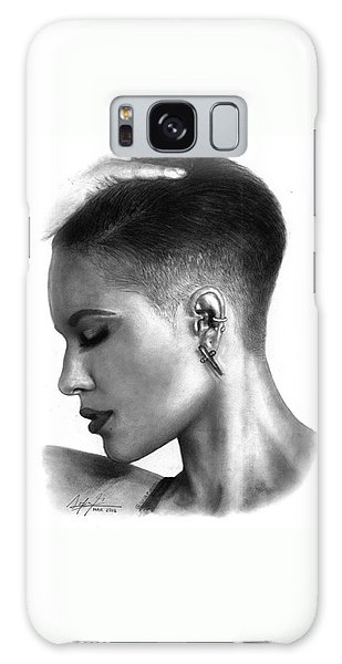 Galaxy Case - Halsey Drawing By Sofia Furniel by Jul V