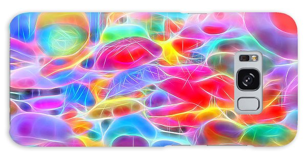In Color Abstract 9 Galaxy Case by Cathy Anderson