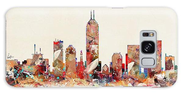 Indianapolis Galaxy Case - Indianapolis Indiana Skyline by Bri Buckley