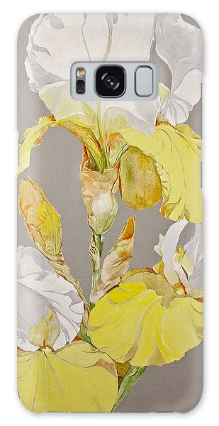 Irises-posthumously Presented Paintings Of Sachi Spohn  Galaxy Case