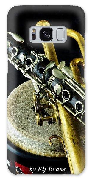 Jazz Galaxy Case by Elf Evans