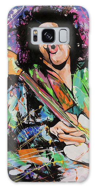 Jimi Hendrix Galaxy Case by Richard Day