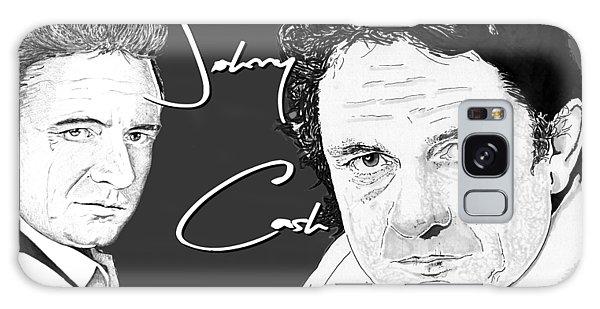 Johnny Cash Galaxy Case