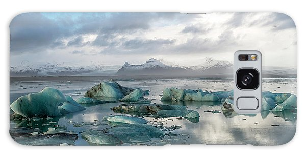 Galaxy Case featuring the photograph Jokulsarlon, The Glacier Lagoon, Iceland 3 by Dubi Roman