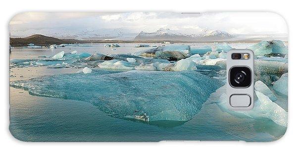 Jokulsarlon The Glacier Lagoon, Iceland 2 Galaxy Case